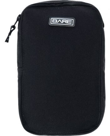 Bare Cordura Bellows with Zip Pkt - Black