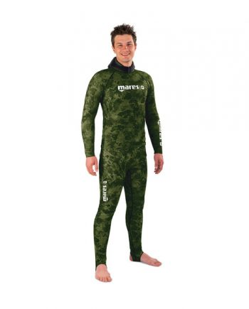 Mares Pants Rashguard Camo Green