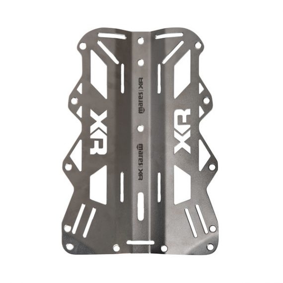 Mares Backplate Stainless Steel - Xr Line