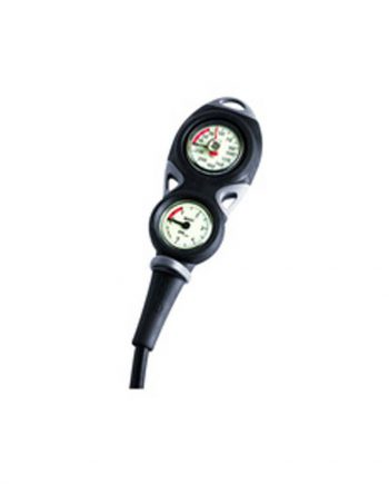 Mares Mission 2 Pressure Gauge, Bar/Metric Units