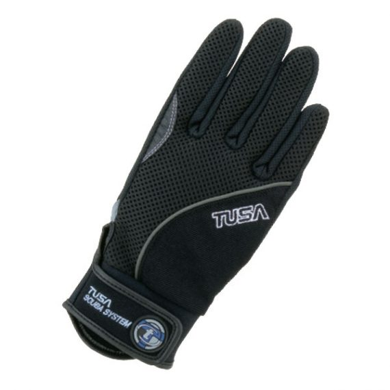 Tusa Tropical Dive Glove - Black